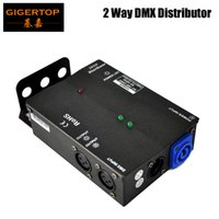 Wholesale input output voltage - New Arrival Multiple Installation Methods 2 Channel DMX Distributor High Voltage Protection Independent Input and Output Signal