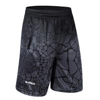 pantalones cortos de lebron al por mayor-2018 estrellas baratas LBJ LeBron James Baloncesto Shorts de secado rápido entrenamiento transpirable Basket-Ball Jersey Sport Running Shorts Men Sportswear