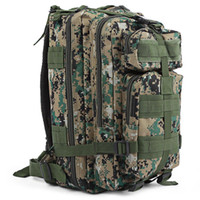Wholesale Quality Tactical Backpack - 9 colors High Quality 30L Hiking Camping Bag Military Tactical Trekking Rucksack Backpack Camouflage Molle Rucksacks Attack Backpacks