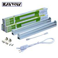 ingrosso piante blu-RAYWAY 2PCS / Set T5 5W LED Grow Light Tube con interruttore 660nm rosso e 455nm blu 2835smd led Growing Bar lampada per piante AC85-265V