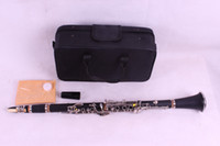 ingrosso 17 clarinetti chiave-alta qualità 1 pz CLARINET Ebanite WOOD Bb Key 17 Chiavi Nice Sound nichelato Grado superiore