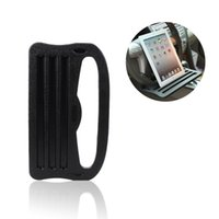Wholesale car steering phone holder resale online - Car Ipad Support Holder Stand Car Steering Wheel Card Table for Laptop Ipad Phone iPad Galaxy Nexus PC with Grooved Surface