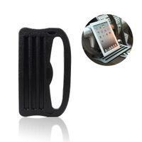 держатель для связи оптовых-Автомобиль Ipad Поддержка держатель стенд автомобиль рулевое колесо карты стол для ноутбука Ipad телефон iPad Galaxy Nexus ПК с рифленой поверхностью