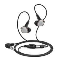 evrensel kulaklıklar yeni toptan satış-Kulak Kulaklık Yılında 2018 yeni DIY IE80 kulaklık HiFi Kulak HD Stereo ile En Iyi Ses kulaklık evrensel cep için kutu