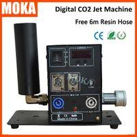 gun cannon machine 도매-Moka MK-C09 클럽 캐논 CO2, 무대 CO2 캐논, CO2 포그 제트 CO2 Cryo Guns 제트 기계 전문 DJ 장비