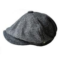 bonnets plats en laine pour homme achat en gros de-Casquettes mode gavroche pour hommes et femmes chapeaux gorras planas casquette designer Loisir et mélange de laine en conserve koala casquette plate livraison gratuite