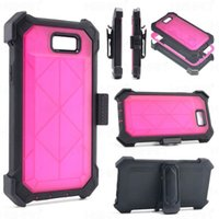 Wholesale heavy impact phone cases for sale - For Samsung Note Defender Case with Clip High Impact Heavy Duty Hard Rugged Rubber Shockproof Phone Case for Samsung Galaxy Note
