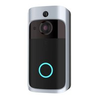 Wholesale security camera for android online - Smart Doorbell WIFI Video Doorbell HD P Security Camera Real Time Two Way Audio Night Vision PIR Detection App Control for IOS Android