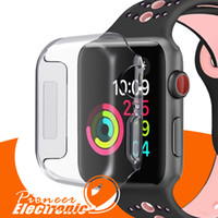 Wholesale apple watch case for sale - For Iwatch Case mm mm D Touch Ultra Clear Soft TPU Cover Bumper Apple Watch Series Screen Protector for Apple Watch Cases