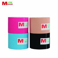 Wholesale sports tape online - 3M cm cm Kinesio Muscle Tape Kinesiology Tape Elastic Cotton Adhesive Sports Roll Care Knee Bandage Support Drop Shipping