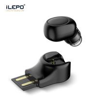 unsichtbare ohrhörer großhandel-X11 Mini Bluetooth Wireless Kopfhörer Unsichtbarer Ohrhörer In Ear Freisprecheinrichtung Headsets Magnetischer USB Ladegerät Ohrhörer mit MIC für IOS Android