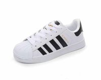 Wholesale female toe - Casual 20185 new mens smith Casual shoes Superstar Female Flat Shoes Women Zapatillas Deportivas Mujer Lovers Sapatos Femininos shoes