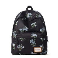 Wholesale vintage canvas backpack floral - 2018 Vintage Flower Printing Designer Zipper Canvas Women Backpack Female School Notebook Bag Waterproof Big Rucksack Teen Girl