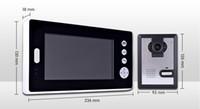 Wholesale digital video intercom for sale - Dual inch monitor GHz digital wireless intercom video doorbell KX7001_1V2
