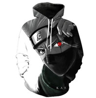 Wholesale naruto jacket for sale - Explosion proof Naruto series D digital print Hoodie sport jacket men s Jacket
