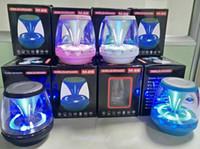 ingrosso imparare il quran-Altoparlanti wireless universale M28 Bluetooth Alimentato Subwoofer LED Light Support TF Card FM MIC Mini altoparlante digitale auto vivavoce 2019