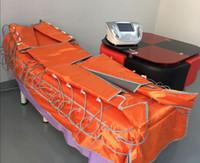 pressotherapie lymphdrainage maschine großhandel-Neuestes Pressotherapy-Gerät-Lymphdrainage-Fett lösen den Cellulite-Abbau auf, der Maschine mit weitem Infrarot abnimmt