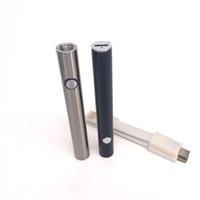 laiton e cig achat en gros de-380mah batterie max cig batterie 510 fonction de préchauffage de fil tension réglable pour bobine en verre de verre liberty cartouches knuckles en laiton