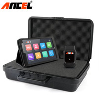 Wholesale russian tablets for sale - Group buy OBD OBD2 EOBD Automotive Scanner X5 WIFI Win10 Tablet Auto Car Diagnostic Tool Airbag ABS DPF Reset Full System Diagnosis