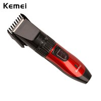 Wholesale cutting beard machine - Kemei Professional Personal Care Hair Trimmer Clipper Rechargeable Home Haircut Cutting Machine Beard Razor Electric Shaver