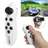 coussinets pour lunettes achat en gros de-Mini VR Cas Sans Fil Bluetooth Gamepad 3D Lunettes Souris Télécommande pour Andriod / IOS / PC Télécommande Bluetooth Game Pad