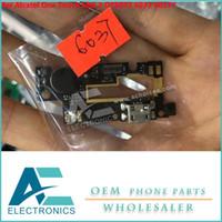 conector de um toque venda por atacado-Para Alcatel One Touch Idol 2 OT6037 6037 6037Y cabo de Carregador de Carregador de Carregador de Microfone USB Cabo Flexível