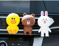 Wholesale car interior perfumes for sale - Car Ornament Cute Doll Decoration Air Freshener Home Automobiles Interior Perfume Fragrance Aroma Flavor Clip Accessories Gift