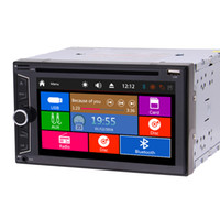 Wholesale wma mp3 player black for sale - Radio double din autoradio car dvd player car pc headunit automagnitol double din P video play bluetooth FM AM Subwoofer USB AUX