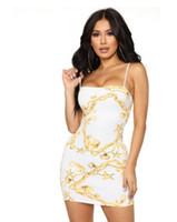 vestidos ocasionales de oro blanco al por mayor-Mujeres Sexy Vestido de Lápiz Envoltura Corporal Vestido de Vestir de Oro Blanco Vestidos de Verano Ropa