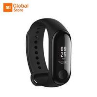 xiaomi mi stock großhandel-Original Xiaomi Mi Band 3 Smart Armband MiBand 3 Smartband Pulsmesser Fitness Tracker Wasserdichtes Armband Auf Lager