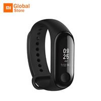 xiaomi mi stock venda por atacado-Original xiaomi mi banda 3 pulseira inteligente miband 3 smartband monitor de freqüência cardíaca rastreador de fitness pulseira à prova d 'água em estoque