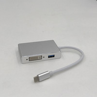 ingrosso cavi di alimentazione ac-Adattatore USB di alta qualità da USB-C a VGA DVI HDMI per laptop Macbook Tablet Monitor