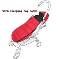 nouveau-nés dormir enveloppes achat en gros de-Sac de couchage pour poussette Newborn Baby Enveloppe chaude pour bugaboo Poussette Fleece Footmuff Sack Poussette pour bébé