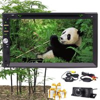 Wholesale wireless dvd player mp3 for sale - Wireless Camera Eincar Double two din Wince8 Car Stereo In Dash Car DVD CD Player Autoradio Headunit FM AM RDS Radio