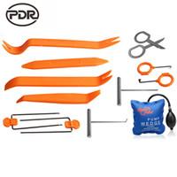 ingrosso kit auto aperto-PDR Lock Picks Kit Lock Pick Set Macchina per la fabbricazione di chiavi Fabbro Tools Pump Wedge Lock Pick Strumenti di apertura per auto 13 pz / set