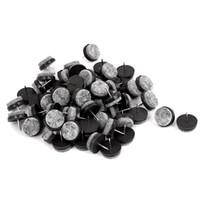 tischrutschen großhandel-Beste Tischbein Boden Filzpad Rutsche DIY Nagel Protektoren 22mm Durchmesser 80 Stücke