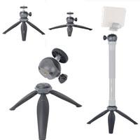 регулируемые подставки для фотоаппаратов оптовых-Мини портативный штатив Deak стенд регулируемый смартфон штатив со съемной шаровой головкой для цифровой камеры видеокамеры DSLR