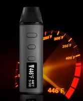 Wholesale Cheap Vape Pens - Authentic LVsmoke Flash Kit 2-In-1 Dry Herb Vaporizer Herbal Wax Pen 1600mah Dabber Ceramic Atomizers 0-446F Fast Heating 2018 cheap vape