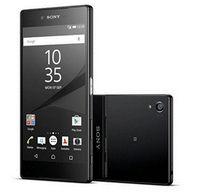 xperia lte al por mayor-Sony Xperia Z5 E6653 Original desbloqueado teléfono móvil GSM WCDMA 4G LTE Android Octa Core RAM 3GB ROM 32GB 5.2 pulgadas 23MP Cámara restaurada