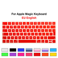 EU UK Magic Keyboard Covers Silicone Protective Film for Apple Magic Keyboard MLA22B A European ISO Keyboard Layout