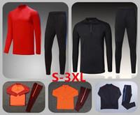 Wholesale tight black clothes - 17 18 AAA+ Messi Survetement SUAREZ training suit COUTINHO tracksuits tight pants training clothes sportswear Messi tracksuit