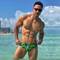 Wholesale enhancing pouches resale online - Men Swimwear Swimsuits Men Swimwear Europe Size Sexy Mens Swim Brief Swimming Bikini Penis Pouch Enhance Front Pocket Inside Swimsuits