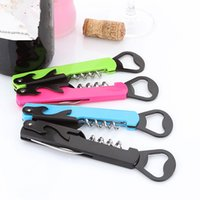 Wholesale horses knives for sale - Group buy High quality Sea Horse Stainless Steel Wine Opener Multifunctional Knife Beer Opener Wine Bottle Opener T2I203