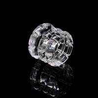 Wholesale bongs loops for sale - Group buy Volcanee Diamond Insert quartz diamond knot insert for Loop Quartz Banger Nail Carb Cap Banger Insert Bowl for Water Pipe Bong