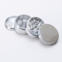 Wholesale usa diamond - Grinder Herb Large Grinder USA STOCK 63mm Aluminum 4 Piece Grinders Tobacco Razor sharp Diamond Cutting Blades 2-7 Days Delivery GD0014