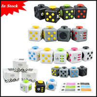 Wholesale first big - In Stock popular 15 Colors Popular Decompression Toy Fidget cube the world's first American decompression anxiety Toys via DHL