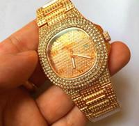 neue ankunftsverkäufe großhandel-Heißer verkauf luxus quarzuhr 38mm frauen kleid uhren diamant designer männer armbanduhren neuheiten orologio di lusso
