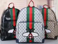 klasik kadın sırt çantası toptan satış-Marka Moda Sırt Çantası Kadın Omuz Çantaları Öğrencileri Çantası Çantası Klasik Tuval Sırt Çantaları Öğrencileri Schoolbag Okul Çantaları ücretsiz kargo