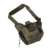 mochila tática verde venda por atacado-Molle Tactical Shoulder Strap Bag Bolsa de Viagem Mochila Câmera Militar Bag Army Green