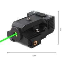высококачественный зеленый лазер оптовых-Новый Высококачественный Алюминиевый Корпус Зеленый Лазерный Прицел Зеленый Луч Лазерный Прицел Для Зимней Охоты С Низкой Термостойкостью.